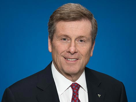 Mayor of Toronto, John Tory