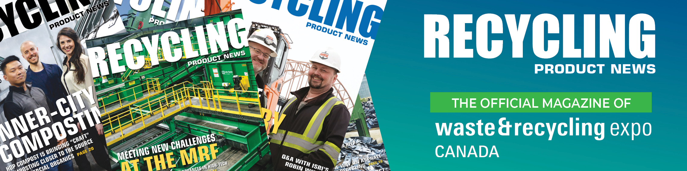 CWRE Official Magazine - Recycling Product News